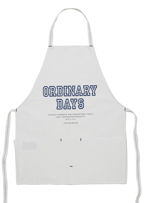 WORK APRON ( ORDINARY ) WH