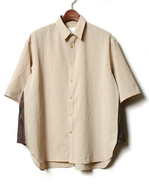 Side Shining Shirt -beige <LSD-BA1S6>