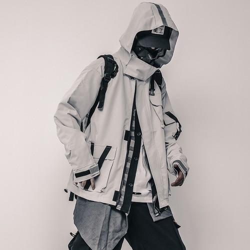 吉業重工 フード付きジャケット
