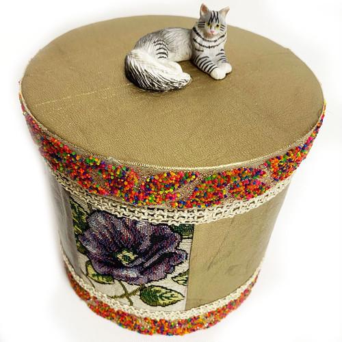 hug2フードボックスfood box(long cat)/gold