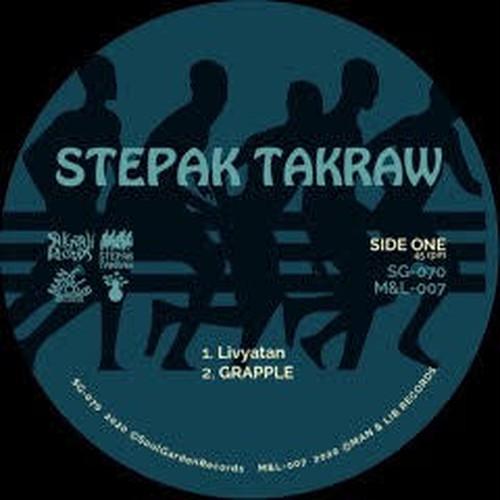 """【残りわずか/12"""" 】STEPAK TAKRAW - Livyatan"""
