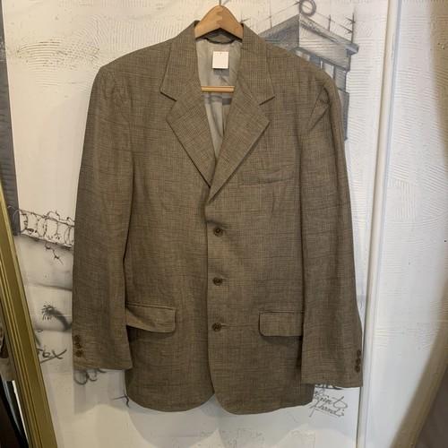 BANANA REPUBRIC check design tailored jacket