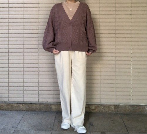 Knit Cardigan 【New product】