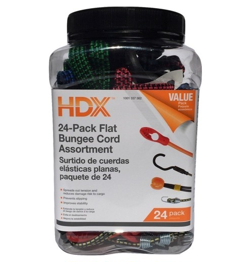 HDX 24Pack Bungee Cord(HDXバンジーコード24P)