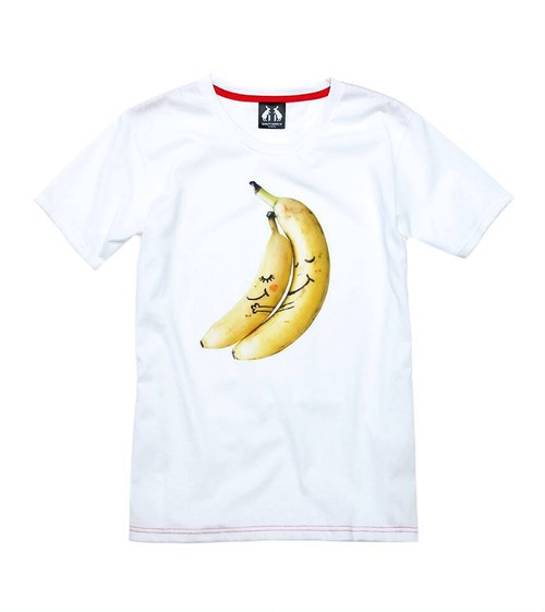 MUDBUNNY x FUTABA FRUITS LOVE BANANA Tee [Designed by BYS DNT CRY. ]