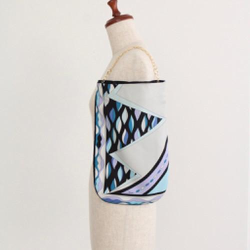 【一点もの】No.18スカーフで作ったプチバッグ