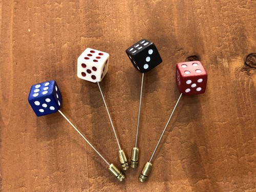 【GANGSTERVILLE 】TUMBLING DICE - HAT PIN