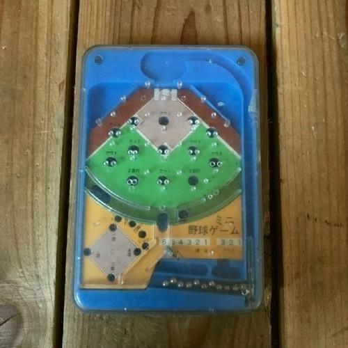 ≫70-80'sヴィンテージ*末廣玩具製*ミニ野球ゲーム*古いポケットベースボールゲーム*パチンコ野球盤*昭和レトロおもちゃビンテージトイ昔
