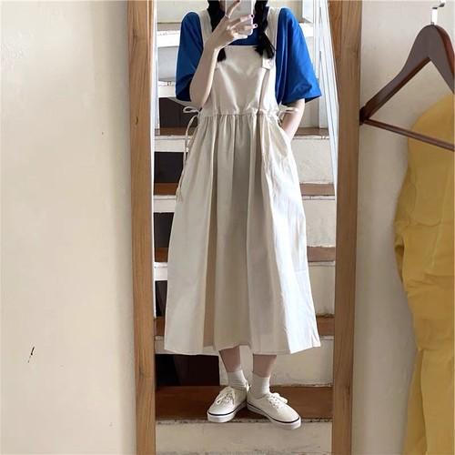 可愛い オシャレ 新作 シンプル 着痩せ ポケット付き スカート・ボトムス
