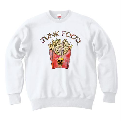 [カジュアルスウェット] French fries / white