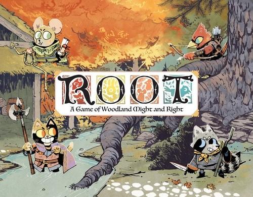 (予約商品・2019年1~2月予定)「Root: A Game of Woodland Might and Right: 」(日本語説明書・シール付属)