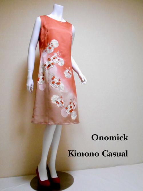大人かっこいいワンピース Kimono Dress LO-204/S
