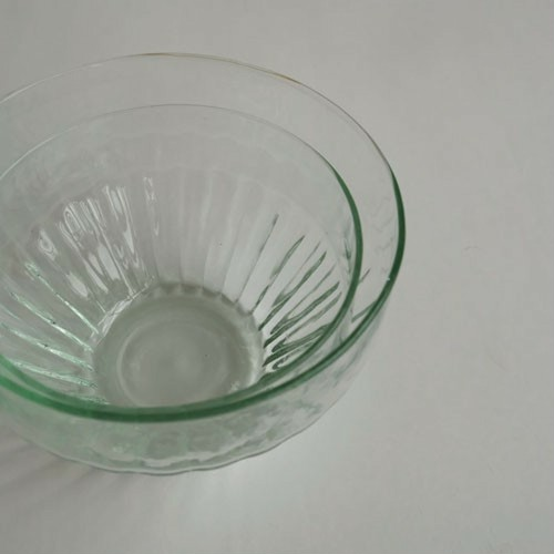 """ Reuse glass  Dish bowl large S """