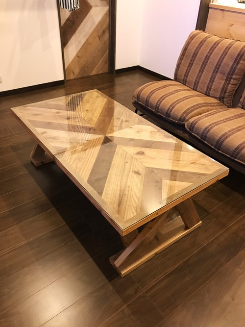 Old wood table 受注製作