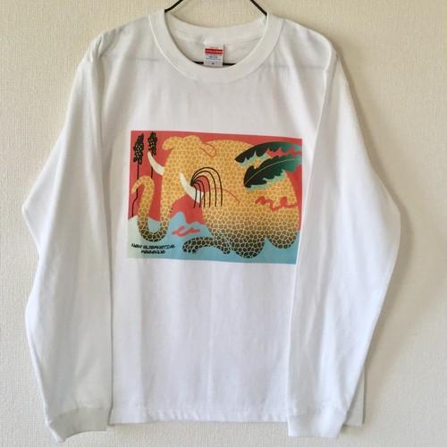 Keeenue × NEW ALTERNATIVE ロングスリーブTシャツ