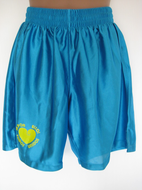 TODOS UNIDOS SHORTS TURQUOISE-BLUE