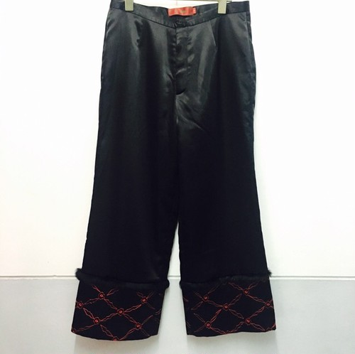 china pants -fur-