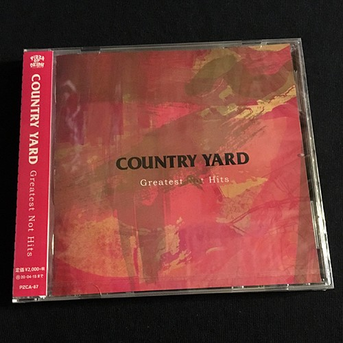 COUNTRY YARD / greatest not hits (CD)