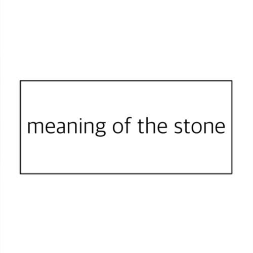 ご参考に / 石の持つ意味について