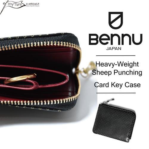 【BENNU】Heavy-Weight Sheep Punching Card Key Case