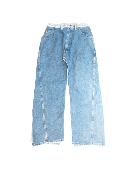 【BONUM】REMAKE SUPER WIDE DENIM 5P  28in
