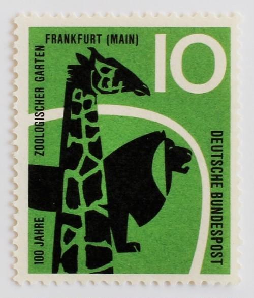 フランクフルト動物園 / 西ドイツ1958