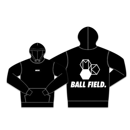 「MK BALL FIELD. produced by MAKIHIKA」Back  Big LOGO Hoodie