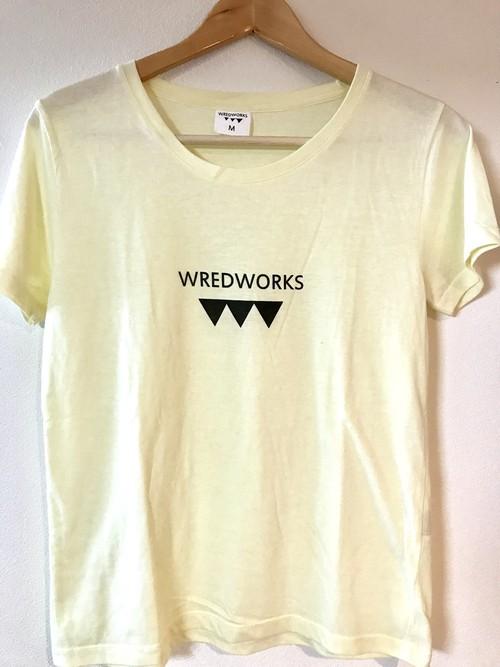 WRED WORKS T-Shirt レモン色 レディースMサイズのみ
