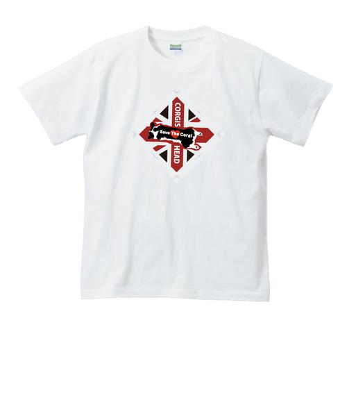 No.87 ロゴタグデザインTシャツ バックハイビスカス