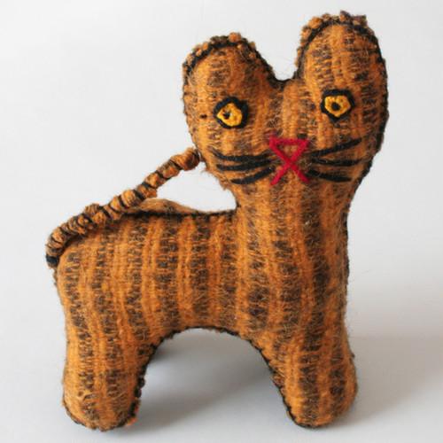 メキシコウールの猫ぬいぐるみ /239/ MEXICO