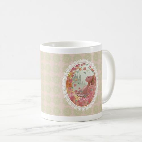 「花の妖精バレリーナ」イラスト入りマグカップ MC100408-002