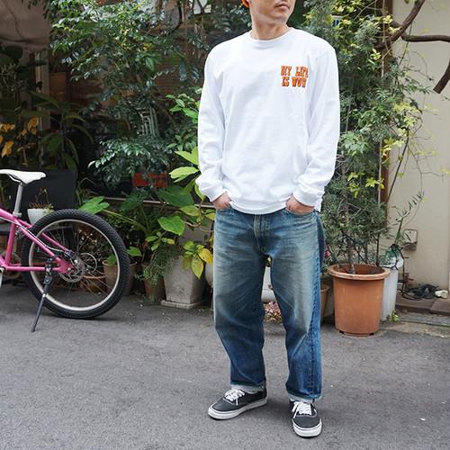 【wow OH!!】ワオ!! L/S Tシャツ Johan WHITE wow-9