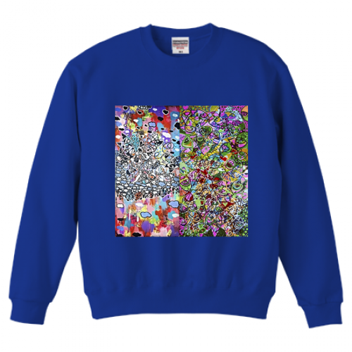 POP ABSTRACT SWEAT