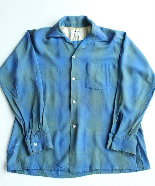 1970's Vintage Arrow Ombré Check Shirts