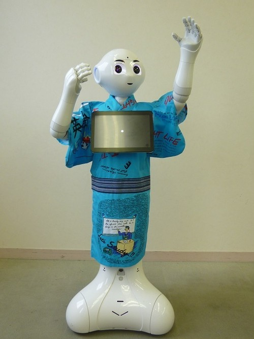ロボット☆ファッション☆和服☆Pepper向け PYK17-001