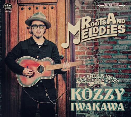"KOZZY IWAKAWA ""ROOTS AND MELODIES"" CD.   RVCD-029"