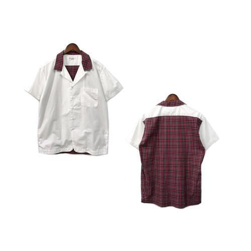 Soe Shirt - Switching Open Collar Shirt (size - 0) ¥12000+tax → ¥9600+tax