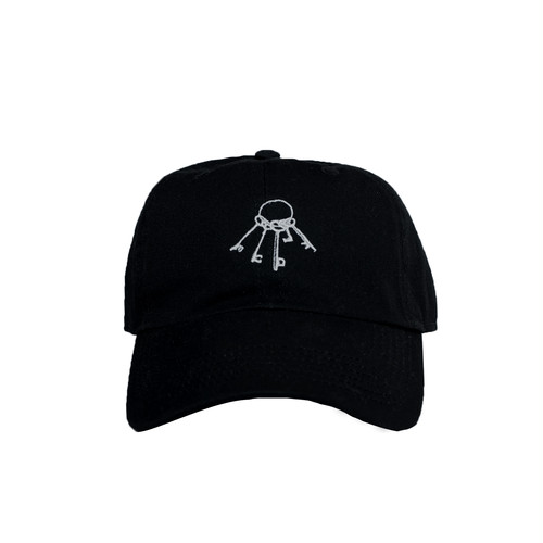 WWWTYO x RepMCD 5th ANNIVERSARY / KEY TO MCD BALL CAP (BLACK)