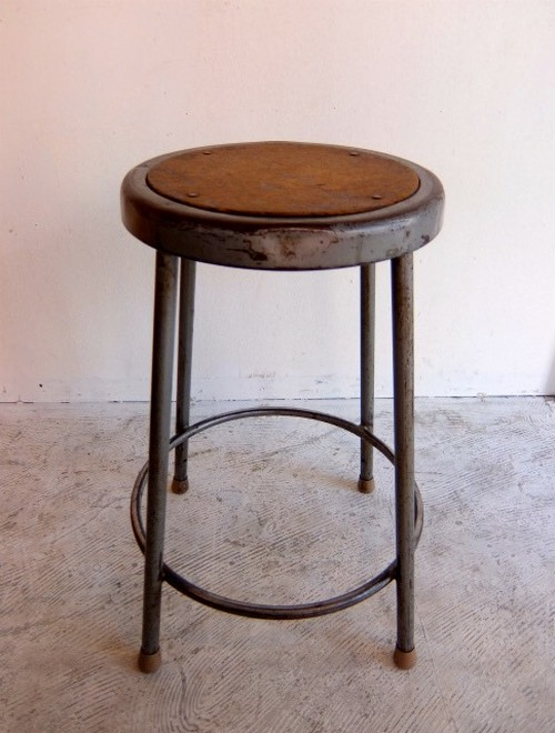 """KRUEGER"" Metal Stool From U.S.A. Type-1"