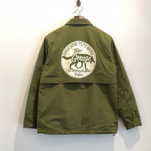 COACH JACKET <The Motorcycle Man Reigns> (MOSS GREEN) / GERUGA