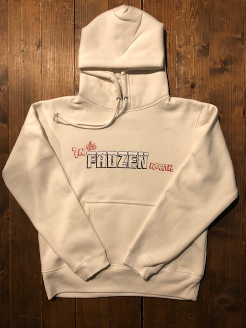 IN THE FROZEN NORTH HOODY : WHAITE