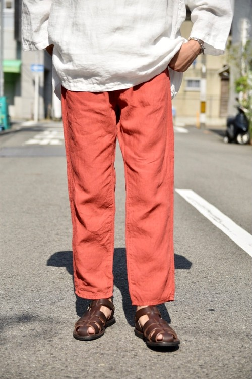 BOTTLES別注【ORDINARY FITS】LINEN 5POCKET ANKLE/OF-P058