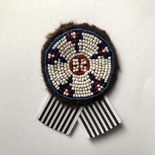 [Trophy] Hand Needle Brooch _23(ヴィンテージ ハンドメイド 刺繍ブローチ)