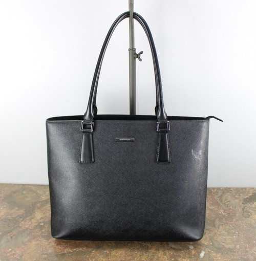 .BURBERRY LEATHER TOTE BAG/バーバリーロンドンレザトートバッグ 2000000040400