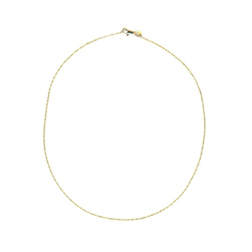 【GF1-9】18inch gold filled chain necklace