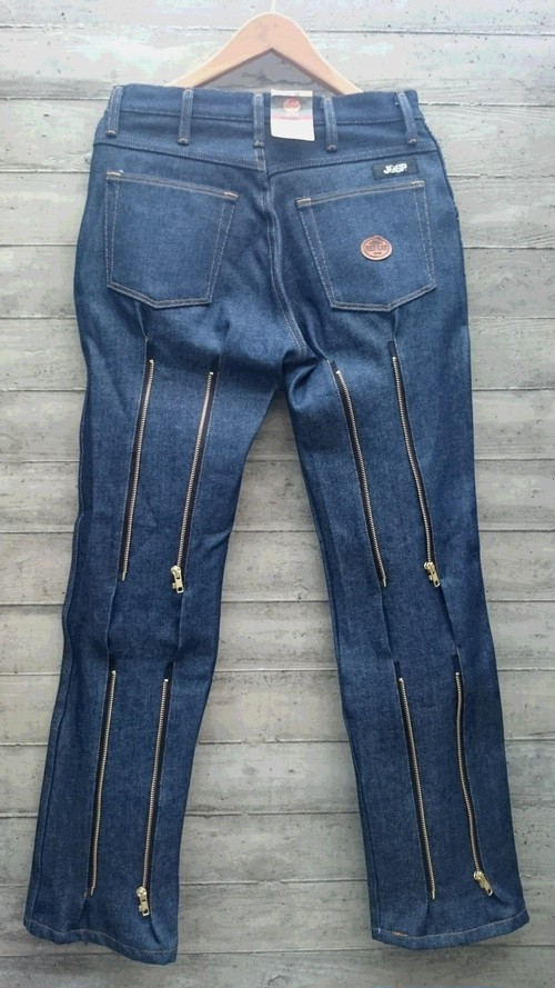 ご予約商品 完全別注JOHNNY SPADE BONDAGE CUSTOM DENIM PANTS