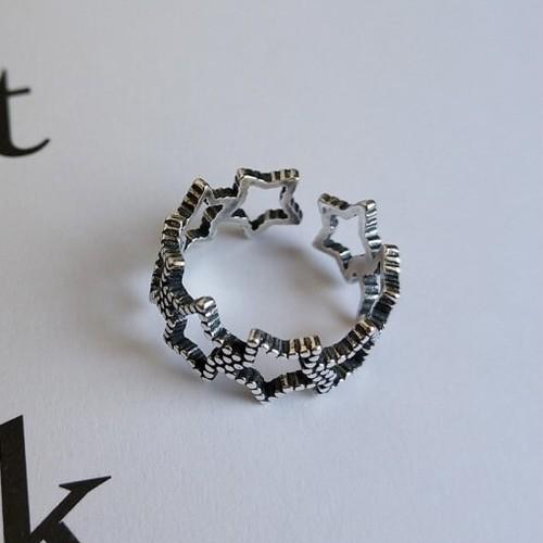 ヴィンテージスターリング | 指輪 | 星 | ヴィンテージ | シルバー925 | レディース | 金属アレルギー