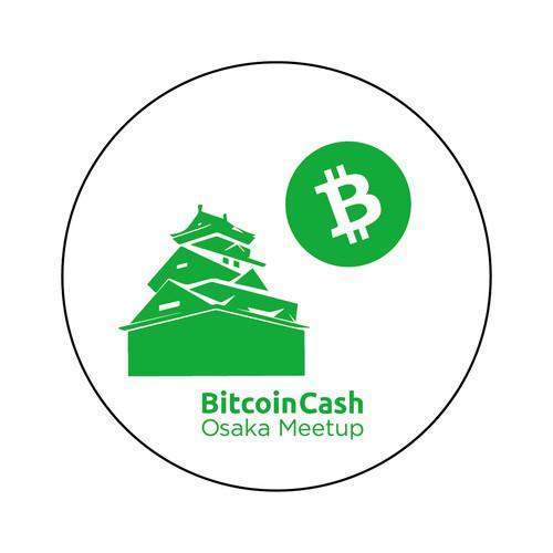 【限定】BitcoinCash缶バッジ OsakaMeetup COFA(A2-OSA003)