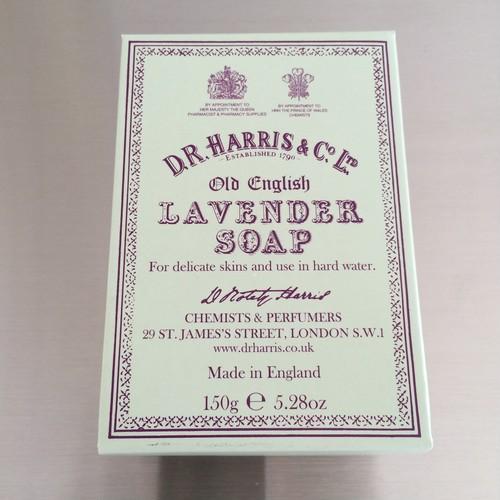 D.R.HARRIS / lavender soap 150g