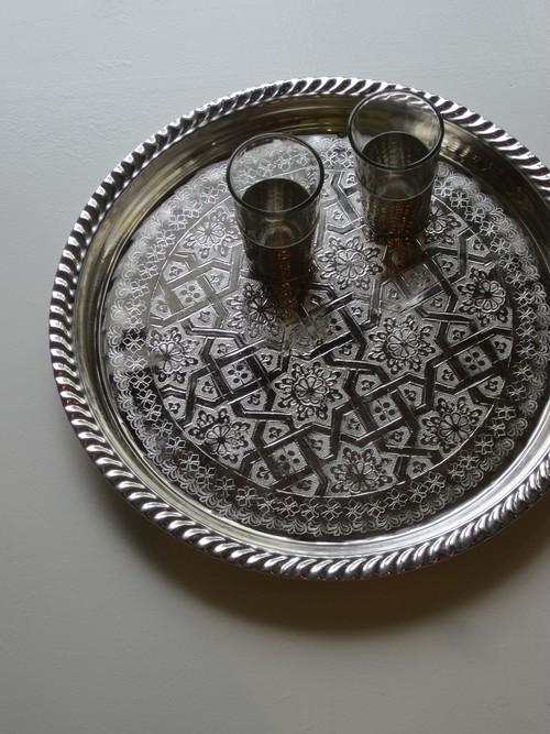 morocco トレイ柄